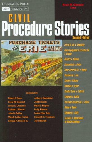 9781599413471: Civil Procedure Stories (Law Stories)
