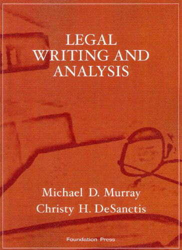 9781599413952: Legal Writing and Analysis (Interactive Casebook Series)