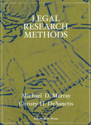 9781599413969: Legal Research Methods (Interactive Casebook Series)