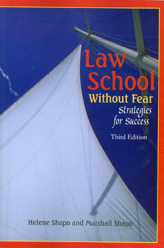 9781599414195: Law School Without Fear: Strategies for Success (Career Guides)