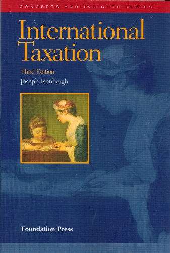 9781599414416: International Taxation (Concepts and Insights)