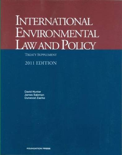 9781599415369: International Environmental Law and Policy (University Casebook Series)