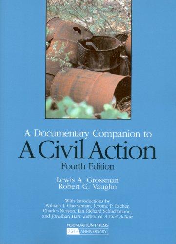 9781599415581: A Civil Action: A Documentary Companion (Coursebook)