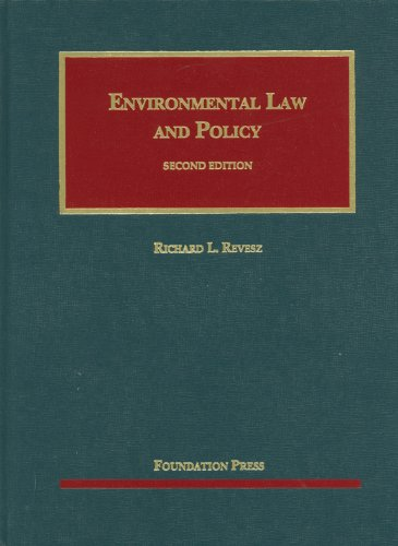 9781599417233: Environmental Law and Policy (University Casebook Series), 2nd Edition