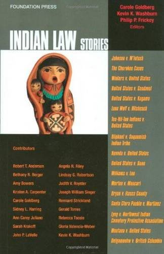 9781599417295: Indian Law Stories