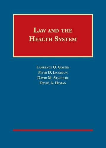 9781599417301: Law and the Health System (University Casebook Series)