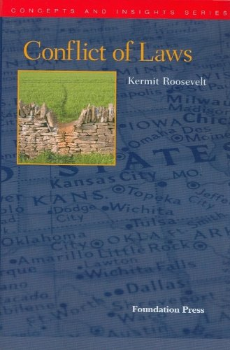 9781599417882: Conflict of Laws (Concepts and Insights)