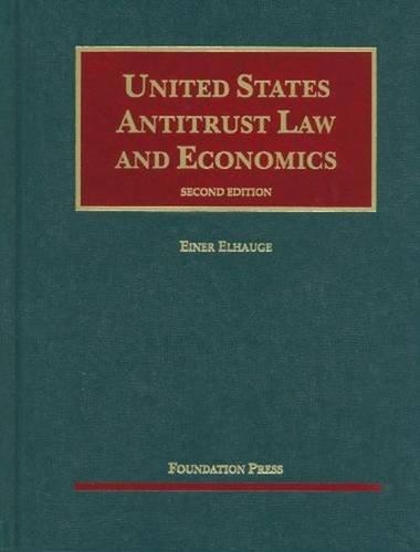 9781599418803: s United States Antitrust Law and Economics (University Casebook Series)