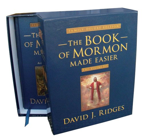 9781599559490: Book of Mormon Made Easier: Family Deluxe Edition Set (Volumes 1 & 2) (Gospel Studies Series)