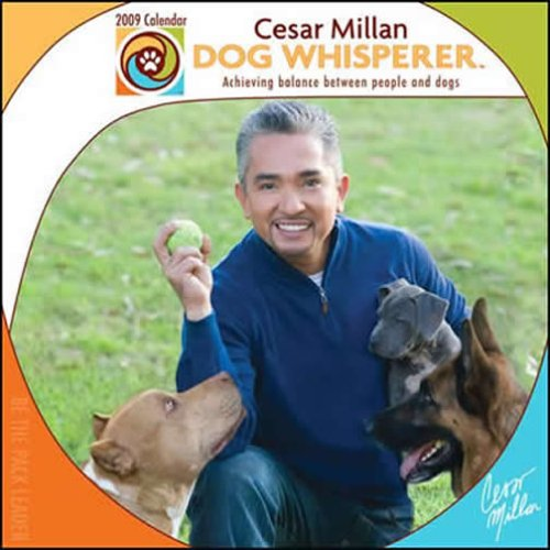 9781599577586: Cesar Millan Dog whisperer 2009 Calendar: Acheiving Balance Between People and Dogs