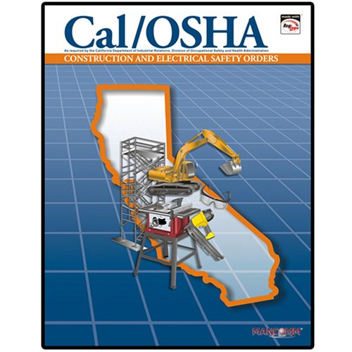 9781599591070: Cal/OSHA General Industry Safety Orders with Selected Electrical Safety Orders