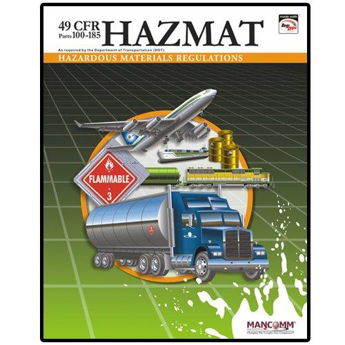 9781599591568: 49 CFR Hazardous Materials Regulations (Parts 100-185) (March 2009)