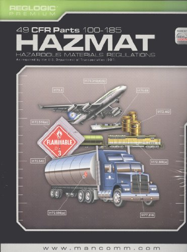 DOT HazMat Regulations Book (Oct. 2011 Edition): MANCOMM Inc