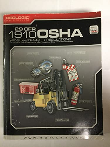 OSHA STANDARDS F/GEN.INDUSTRY-: Mancomm