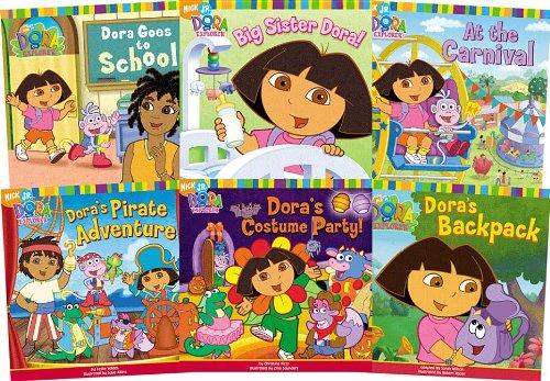 9781599610665: Dora the Explorer Set 1 (Dora the Explorer 8x8)