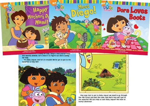Dora the Explorer Set 2 (1599612372) by Inches, Alison