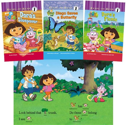 9781599614342: Dora and Diego Ready-To-Reads