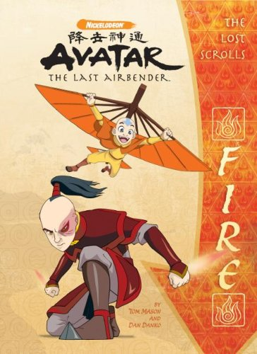 9781599614588: The Lost Scrolls: Fire (Avatar - The Last Airbender)