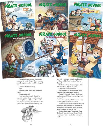 Pirate School -6v (Pirate School (Hardcover)) (1599615819) by Brian James