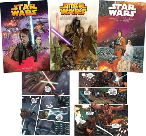 9781599616162: Star Wars: Episode Iii: Revenge of the Sith/ Episode Iv: a New Hope