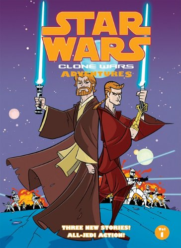 9781599619040: Star Wars: Clone Wars Adventures 1