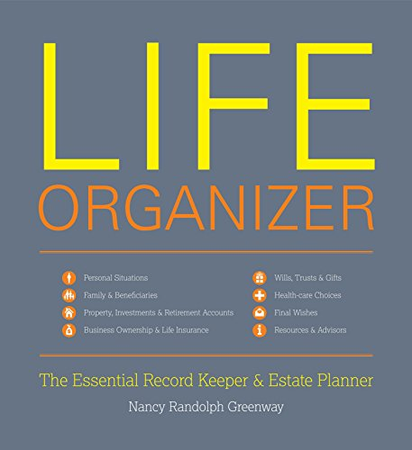 9781599620923: Life Organizer: The Essential Record Keeper and Estate Planner