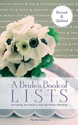 9781599621203: A Bride's Book of Lists: Everything You Need to Plan the Perfect Wedding