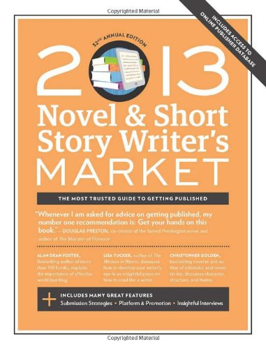 9781599635958: 2013 Novel & Short Story Writer's Market