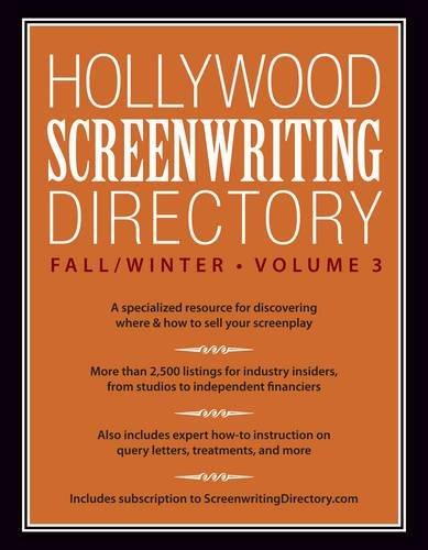Hollywood Screenwriting Directory Fall/Winter Vol. 3