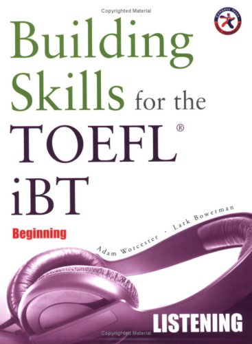9781599660011: Building Skills for the TOEFL iBT, Beginning Listening (with 4 Audio CDs)