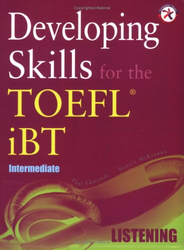 9781599660059: Developing Skills for the TOEFL iBT, Intermediate Listening (with 6 Audio CDs)