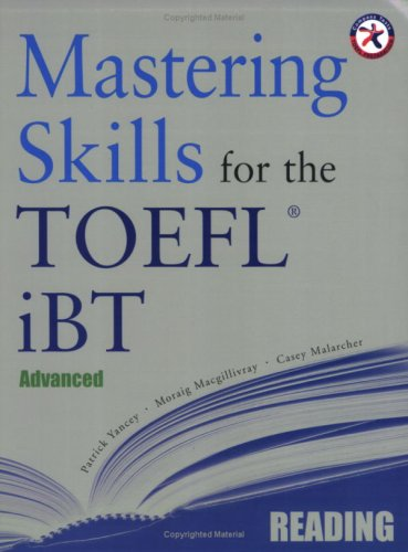 9781599660080: Mastering Skills for the TOEFL iBT, Advanced Reading