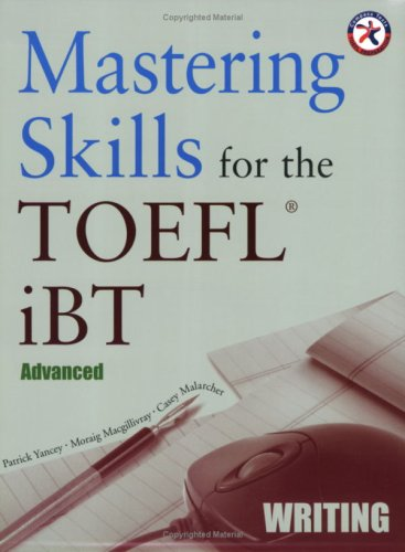 9781599660110: Mastering Skills for the TOEFL iBT, Advanced Writing (with Audio CD)