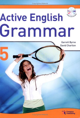 9781599660226: Active English Grammar 5, w/Transcripts, Answer Key, and Audio CD (intermediate-level series provides thorough understanding of the mechanics of the English language)