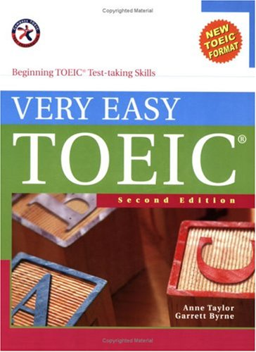 9781599660240: Very Easy TOEIC, Second Edition (with 2 Audio CDs), Beginning TOEIC Test-taking Skills