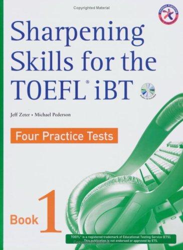 Sharpening Skills for the TOEFL iBT, Four: Jeff Zeter, Michael