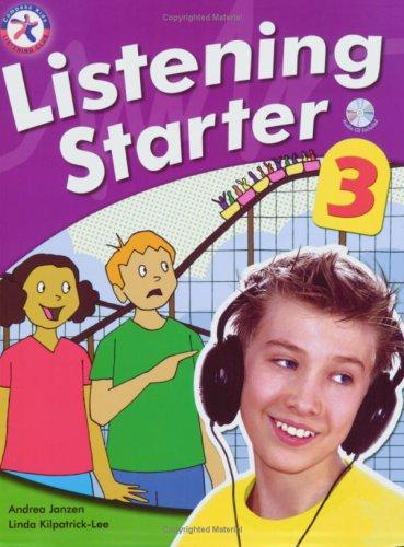 9781599660714: Listening Starter 3 (Beginning Level with 2 Audio CDs)