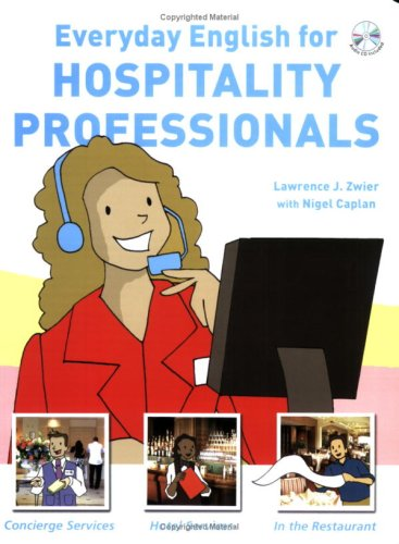 9781599660752: Everyday English for Hospitality Professionals (with Audio CD)