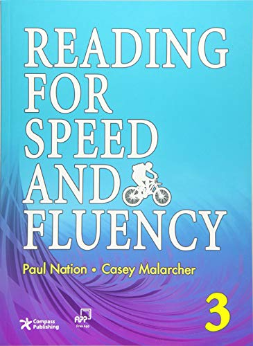 9781599661025: Reading for Speed and Fluency 3 (Intermediate Level; Target 250 Words per Minute; Answer Key & Speed Chart Included)