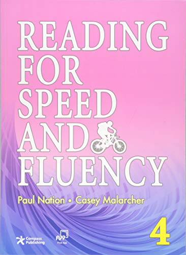 9781599661032: Reading for Speed and Fluency 4 (Intermediate Level; Target 250 Words per Minute; Answer Key & Speed Chart Included)