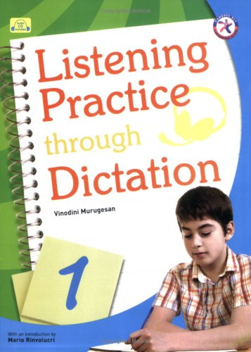 9781599661049: Listening Practice through Dictation 1, w/Transcripts, Answer Key, and Audio CD (intermediate-level series that present basic listening transcription activities)
