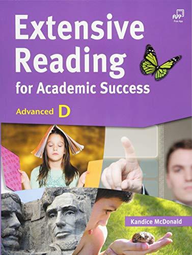 Extensive Reading for Academic Success, Advanced D (w/Answer Key): Kandice McDonald