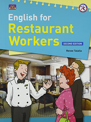 9781599661506: English for Restaurant Workers, Second Edition (with Audio CD and Answer Key)