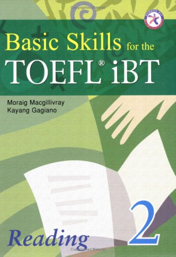 9781599661575: Basic Skills for the TOEFL iBT 2, Reading Book (with Answer Key)