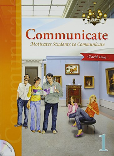 9781599661766: Communicate 1, Motivates Students to Communicate (Low Intermediate Level, w/Audio CD)