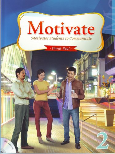 9781599661858: Motivate 2, Motivates Students to Communicate (Intermediate Level, w/Audio CD)