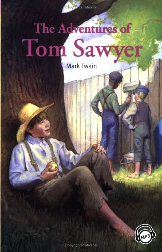 9781599662145: Compass Classic Readers: The Adventures of Tom Sawyer (Level 2 with Audio CD)