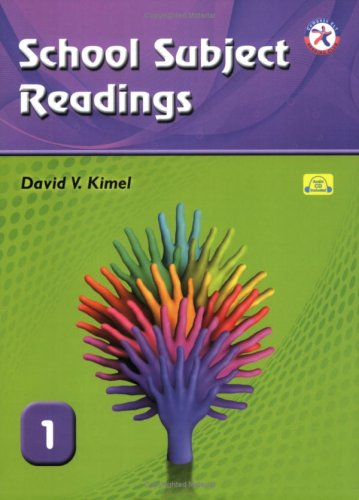 9781599663777: School Subject Readings 1, with Audio CD (High Beginning Reading Comprehension)