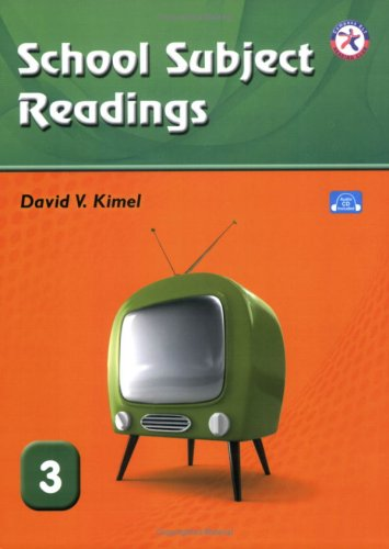 9781599663791: School Subject Readings 3, with Audio CD (Low Intermediate Reading Comprehension)