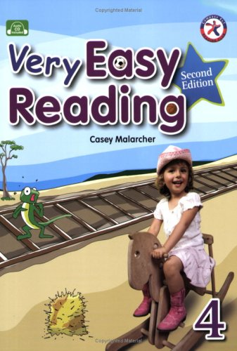 9781599663838: Very Easy Reading 4, 2nd Edition w/Audio CD (beginning reading with exposure to vocabulary and structure)